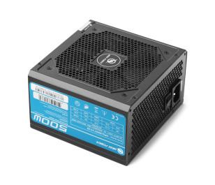 High Power 500W 80+ Standard 37.5A Single Rail Aktif PFC Siyah ATX Güç Kaynağı