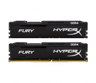 Kingston DDR4 32GB(2x16) 2133MHz HyperX Fury Black Ram (HX421C14FBK2/32)