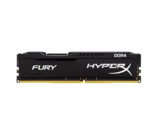 Kingston DDR4 16GB(1x16GB) 2400MHz  HyperX Fury Black Ram Bellek (HX424C15FB/16)