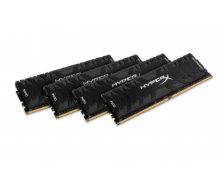 Kingston DDR4 16GB(4x4GB) 3000MHz CL15 HyperX Predator Bellek Ram (HX430C15PB3K4/16)