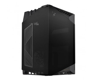 Silverstone Lucid Serisi LD03B-AF 3 x Tempered Glass Siyah Mini-ITX Kasa