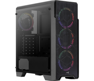 Aerocool Ore Saturn 4 x 12cm FRGB Fan Mid Tower Kasa