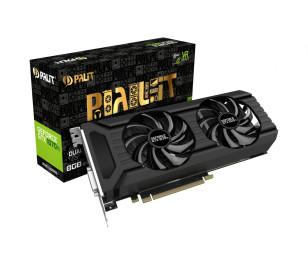 Palit GeForce® GTX 1070 Ti Dual 8GB GDDR5 256-Bit DVI-D, HDMI 2.0b, 3x DP1.4 PCI-Express Ekran Kartı