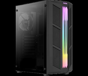 Aerocool Prime RGB 500W 2 x 12cm Siyah Fan ATX Oyuncu Kasası