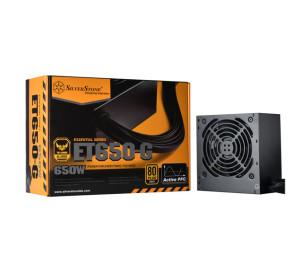 Silverstone Essential 650W 80+Gold ATX Güç Kaynağı