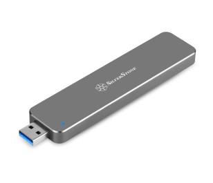 Silverstone USB 3.1 Type A (Gen 2) M.2 SATA Alüminyum Disk Kutusu