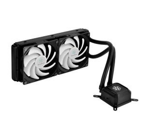 SilverStone Tundra TD02LITE Intel LGA775/115X/1366/2011/2011-v3/2066 AMD AM2/AM3/FM1/FM2 Uyumlu Sıvı Soğutma Sistemi