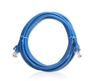 TX 1M Cat5E CCA Solid UTP Mavi Network Kablosu
