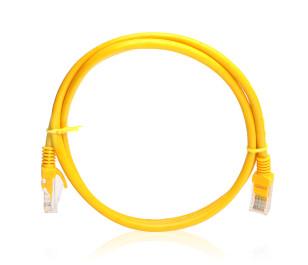 TX 1M Cat5E CCA Solid UTP Sarı Network Kablosu