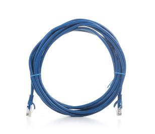 TX 5M Cat5E CCA Solid UTP Mavi Network Kablosu