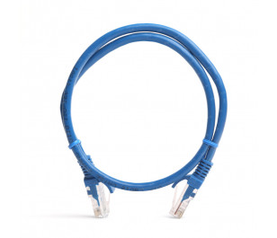 TX 0,50M Cat5E CCA Solid UTP Mavi Network Kablosu