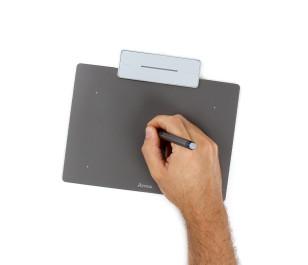 Artisul Sketchpad Small A6 UCAP604 Grafik Tablet  Metalik Gri