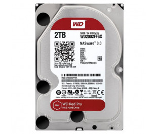 "WD 2TB Red Pro 3,5"" 7200RPM SATA III 64MB Cache NAS 7/24 (WD2002FFSX)"