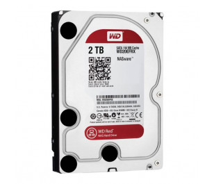 "WD 2TB Red 3,5"" SATA III 6Gbit/s IntelliPower 64MB Cache NAS 7/24 (WD20EFRX)"
