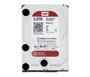 "WD 3TB Red 3,5"" SATA III 6Gbit/s IntelliPower 64MB Cache NAS 7/24 (WD30EFRX)"