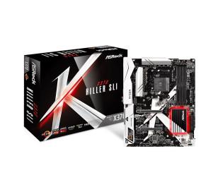ASRock X370 Killer SLI, 2x PCIe x16, 2933+MHz(OC)(Ryzen) DDR4, 12X USB3.1 Gen1(1 Type-C, 4x Ön,Panel, 7x Arka Panel), AM4 ATX Anakart