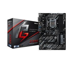 Asrock Z390 Phantom Gaming 4, 2xPCIe x16 (Gen3), 4x4300MHz+ (OC) DDR4, ATX Anakart (8. ve 9.Nesil LGA1151 Intel İşlemcileri Destekler)