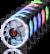 Raijintek IRIS 12 RBW ADD-3 ARGB Kasa Fanı
