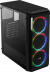 Aerocool SI-5200 RGB 600W 80+ Bronze 4x12cm Adreslenebilir RGB Fanlı Güçlendirilmiş Camlı Yan Panel USB 3.0 Mid Tower Siyah Oyuncu Kasası