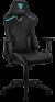Aerocool ThunderX3 TC3JB Siyah Mavi Logo Oyuncu Koltuğu