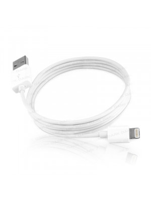 Dark 1m iPad/mini iPad/iPhone5 Lightning 8pin Uyumlu USB Şarj ve Senkronizasyon Kablosu (Beyaz)