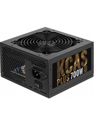 Aerocool KCAS PLUS 700W 80Plus Bronze Sertifikalı 58A Single Rail Güç Kaynağı