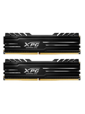 Adata DDR4 16GB(2x8GB) 3000MHz SINGLE XPG GAMMIX D10 Black Ram (AX4U300038G16A-BB10/2)