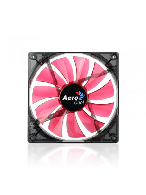"""Aerocool """"Lightning"""" 14cm Kırmızı Ledli Sessiz Kasa Fanı"""