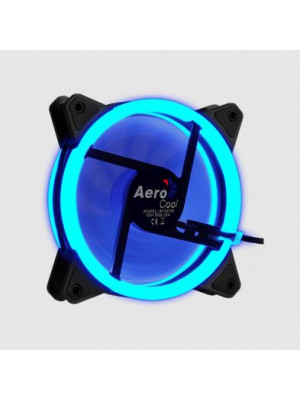 Aerocool Rev Dual Ring 12cm Mavi Ledli Fan