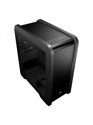 Aerocool QS240 600W 80+ Bronze Tempered Glass USB 3.0 Blue Led Fanlı Micro-ATX Kasa