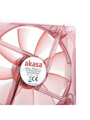 Akasa Quiet Cool 12cm Kırmızı LED Sessiz Kasa Fanı