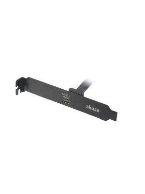 Akasa 50cm USB 3.1 Gen2 Dahili PCI Express Bağlantı Yuvası ve Kablosu