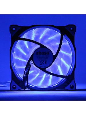 Akasa Vegas Mavi 15Ledli 12cm Fan