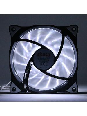 Akasa Vegas Beyaz 15Ledli 12cm Fan