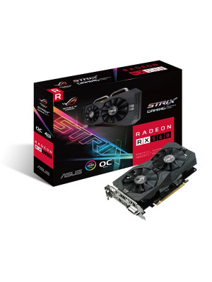 Asus RX560 4GB O.C 128Bit ROG STRIX GDDR5 Ekran Kartı (ROG-STRIX-RX560-O4G-GAMING)