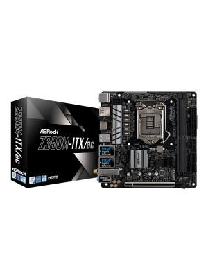 Asrock Z390M-ITX/ac Intel Z390, 4000MHz+(O.C.) DDR4, M.2, USB 3.1 Gen 2, HDMI/DP, Mini-ITX Anakart