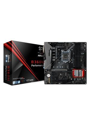 ASRock Fatal1ty B360M Performance Socket 1151, DDR4 2666MHz, Quad CrossFireX, Ultra M.2, USB 3.1 Gen2, RGB mATX Oyuncu Anakart