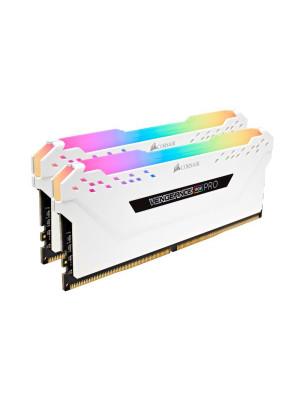 Corsair DDR4 16GB(2x8GB) Vengeance RGB PRO 3200MHz Ram Bellek (CMW16GX4M2C3200C16W)