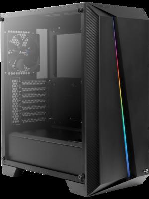 Aerocool Cylon Pro 500W 80+ RGB Tempered Glass USB 3.0 Siyah Kasa