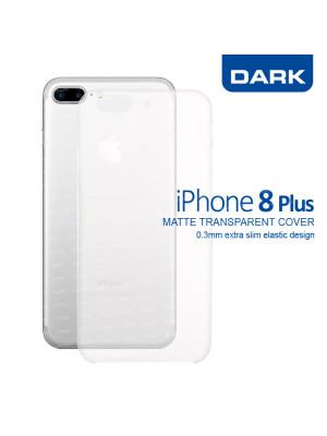 Dark iPhone 8 Plus 0,3mm Ultra İnce Mat Kılıf