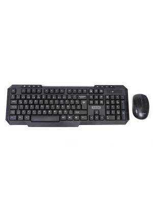 Dark KMW1010 Siyah Kablosuz Klavye & Mouse Set