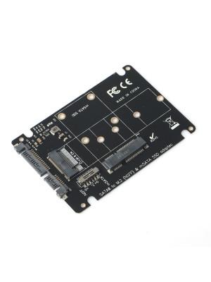 Dark MSATA + M.2 NGFF to SATA Dönüştürücü Adaptör