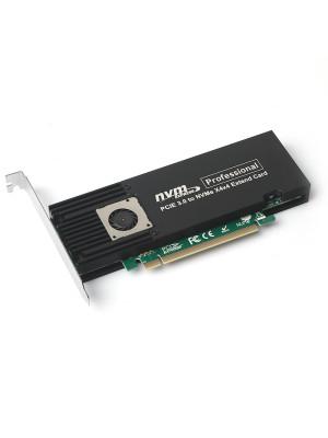 Dark 4x NVMe M.2 Destekli, Fanlı, Software RAID PCIE X8 Kart