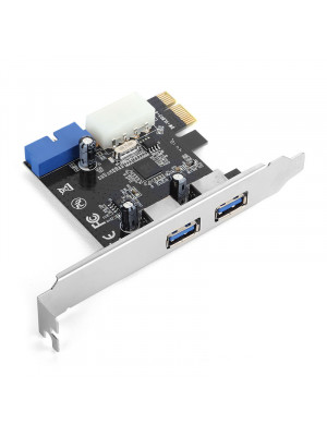 Dark U3P21 2xHarici ve 1x19 Pin USB 3.0 Portlu PCI Exp x1 Kart