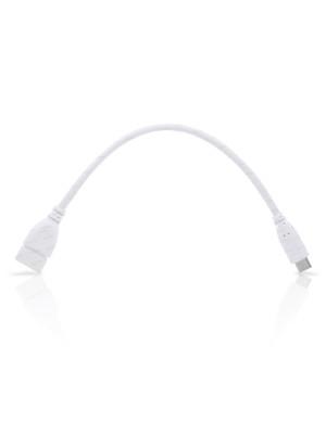 Dark USB3.1 Type C USB3.1 Erkek, USB3.0 Dişi OTG Kablo Beyaz