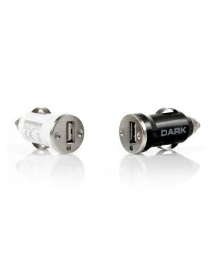 Dark 1 x USB 5V/1A Çakmak Tipi Araç Şarj Adaptörü (Beyaz)