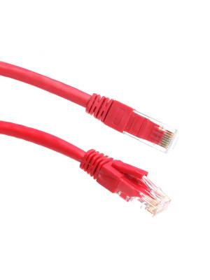 Dark 0,50m Cat6 CU AWG24/7 UTP Kırmızı Patch Network Kablosu