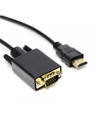 Dark HDMI to VGA Dijital - Analog Dönüştürücü Kablo