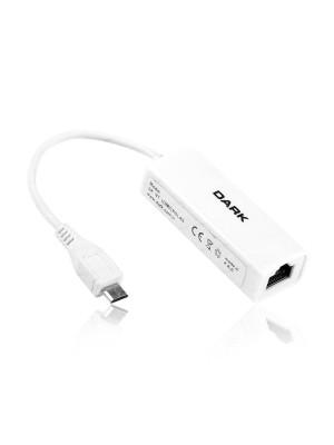 Dark micro USB2.0 - 10/100 Ethernet Ağ Adaptörü