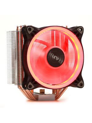 Dark Freezer X124 Intel LGA115X/2066 - AMD FM2/AM3/AM4 Uyumlu,120mm Kırmızı Halka LED'li İşlemci Soğutucu